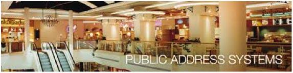 Public Address Systems